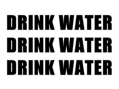 Drink Water!!! It helps with diet and exercise!!! I've lost 24 lbs in 5 months ;-)