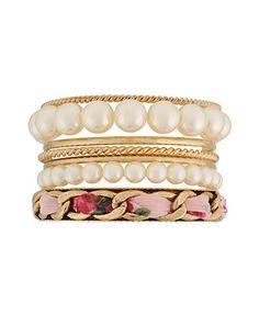 Glamour Mixed 7-Bracelet Set   FOREVER21 - 1062097855