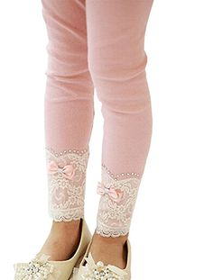 Romapig Winter Kids Girls Lace Flowers Years Legging Pant Pink Pink) Season: Fall, Winter Sleeve Length:Long Legging Occasion: Everyday, Holiday Pattern: Lace For Years Old Kids Mädchen In Leggings, Girls Leggings, Short Infantil, Simple Pakistani Dresses, Winter Kids, Fall Winter, Lace Flowers, Kids Wear, Fashion Pants