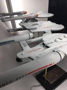 Starfleet 1/350 Custom Ships Tycho Overflow Lot B by Bill Krause