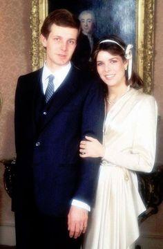 Carolina di Monaco, in seconde nozze con Stefano Casiraghi
