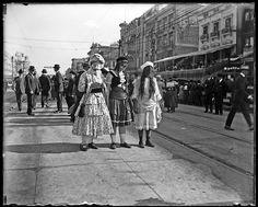 Mardi Gras, New Orleans, 1917