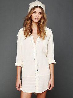 Shirt Dress. http://www.freepeople.com/whats-new/shirt-dress/