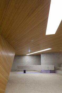 Image 23 of 61 from gallery of Concert Hall Blaibach / peter haimerl. Photograph by Edward Beierle Bavarian Forest, Modern Architects, Hall Design, Concert Hall, Office Interiors, Interior Inspiration, Design Inspiration, Interior Architecture, Interior Decorating