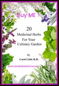 Medicinal Herbs for your Culinary Garden is packed with herb-infused recipes + remedies! 50+ recipes, Growing tips, medicinal attributes + helpful home uses!