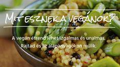 Mit eszik egy vegán?