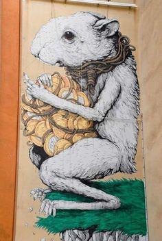World Graffiti Urban Art - EricailCane