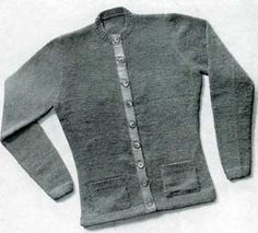 Woman's Cardigan | Knitting Patterns ~ nicely fitted