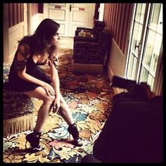 Melissa Mars - [09.09.12] Backstage Deauville