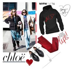 """""""#nyfw"""" by rockingmother ❤ liked on Polyvore featuring Comptoir Des Cotonniers, Chloé, Jeffrey Campbell and NYFW"""