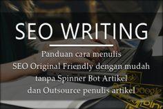 Toko Saya: SEO Writing