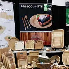 #BambooStudio was in the house at #IHMRS2014 …..#TabletopMatters, even in disposables…..