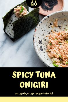 Discover recipes, home ideas, style inspiration and other ideas to try. Sushi Recipes, Spicy Recipes, Asian Recipes, Vegetarian Recipes, Cooking Recipes, Spicy Tuna Recipe, Sushi Dessert, Dessert Chef, Gourmet