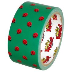 "Ladybug Picnic Missprinted Craft Duct Tape 1.88"" x 10 yds Tape Brothers http://www.amazon.com/dp/B00CQ8GYPE/ref=cm_sw_r_pi_dp_I7lsub14EP3MW"