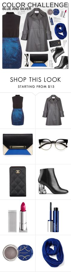 """""""Rock This Look: Blue and Silver 