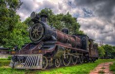 National Rail museum ,Delhi by Nishchay Gauba, via 500px