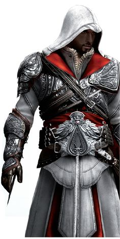 Ezio Auditore da Firenze - When you can't just be a deadly assassin, you have to be a womanizer too.