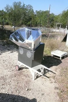 Someones homemade solar cooker. Flickr Search: solar cooker | Flickr - Photo Sharing!