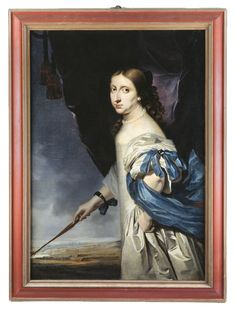 1661 Queen Christina of Sweden by Abraham Wuchters (Skoklosters slott - Skoklosters Sweden)   Grand Ladies   gogm