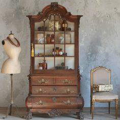 amazing cupboard circa 1860