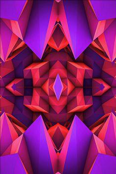 Symmetry by Billy Harris, via Behance