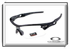 f2ec0442dd Oakley Radar Pitch Sunglasses Polished Black   Clear Iridium
