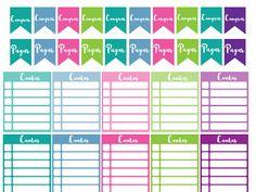 planner financeiro - Google Drive