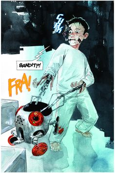 Descender: Art by Dustin Nguyen