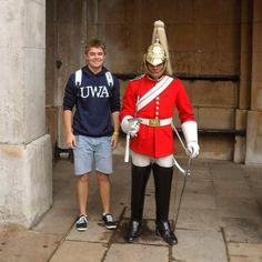 Buckingham Palace London 2012  #royal #soldier #buckingham #palace #london #england #great #britain #unitedkingdom #UK #europe #2012 #latergram #memory #happy #flashback #travel #tourist #backpacker #student #adventure #explore #meet #local #uniform #red #blue #pose #like4like #potd by immersiadam