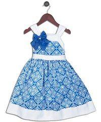 Joe and Ella Fashion Dívčí šaty Christina - bílo-modré
