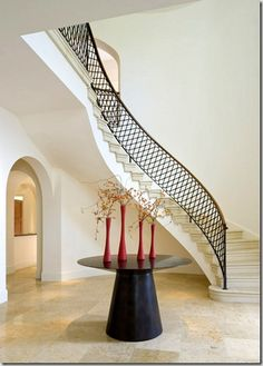 Awesome Iron Railing (by Richard Davis Associates) Treppen Stairs Escaleras repinned by www.smg-treppen.de