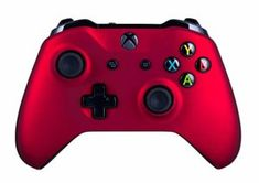 Xbox One S Wireless Controller for Xbox One - Soft Touch Red Added for Long Xbox Wireless Controller, Game Controller, Xbox One S, Gaming Memes, Tech Gadgets, Microsoft, Games, Touch, Don't Settle