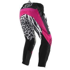 Fox Mx Gear Black Pink Ladies Motocross Bike Off Road Womens Pants SALE WAS $160