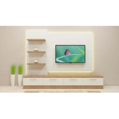 Buy Wonken TV Unit with Laminate Finish Online in India Modern Tv Unit Designs, Modern Tv Wall Units, Living Room Tv Unit Designs, Tv Stand Designs, Simple Tv Unit Design, Tv Cabinet Design, Tv Wall Design, Tv Unit Decor, Tv Decor