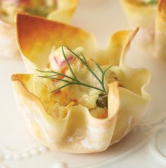 Sure, you could serve Smoked Salmon Bites as an appetizer at your next party, but wouldn't they be fun to serve as part of a brunch or even for a bridal shower? Make the filling ahead to save time.