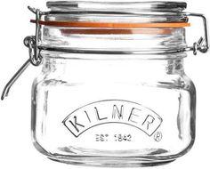 square glass jars