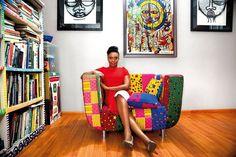 Chimamanda Ngozi Adichie Novelist TED Speaker Interview (Vogue.co.uk)