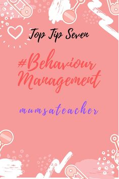Top Tip Seven for Teachers - Behaviour Management My blog and free Top Ten Tips sheet for teachers explains each of my tried and tested tips in detail.  Great tips for new and experienced teachers to try out. Behaviour Management, Behavior, Emotional Rollercoaster, New Teachers, Teacher Hacks, Teaching Tips, Top Ten, About Me Blog, Survival
