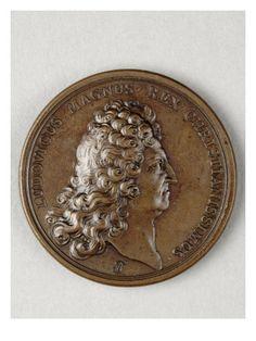 Médaille Louis XIV - Musée national de la Renaissance (Ecouen)