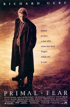 ''PRIMAL FEAR'', Richard Gere poster, 1996