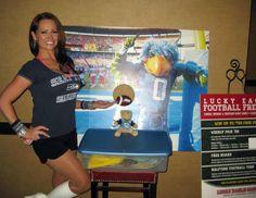 Lucky Eagle Casino Football Promos 2012