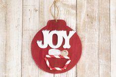 DIY Joy Ornament with Baby Jesus - a fun kids Christmas craft