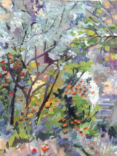 """La Lumiere,"" by Paula Griff McHugh, using Naples Yellow Light"