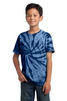 a6b38d673bd48 Port   Company - Youth Tie-Dye Tee. PC147Y. Blank T ShirtsShirt ...