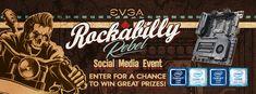 Enter @TeamEVGA Rockabilly Rebel Social Media Event to win great prizes from @TEAMEVGA & @INTEL @IntelGaming!  #EVGARockabillyRebel