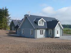 Log house near Aberdeenshire.