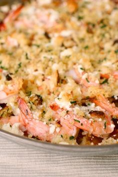 Roasted Shrimp with Tomatoes and Feta.  I made this for dinner tonight - super easy and quick and I had all the ingredients on hand!  Very good - served it with roasted broccoli and rotini pasta.