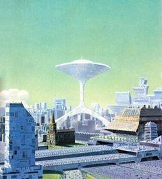 Angus McKie - Future City, 1976.