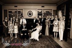 family portrait pose