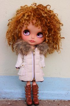 OOAK Custom Blythe Doll Tanned Skin | eBay